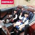 Criança correções de segurança de três pontos de interface isofix assento de segurança para crianças de carro do bebê com assento de carro autenticação 3 c