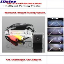 Liislee Dynamic Guidance Rear Camera For Volkswagen VW Caddy III 2004~2010 / HD 860 * 576 Pixels Parking Intelligentized