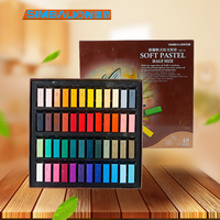 SIMBALION 24/48 цвета короткие мягкие Пастель Краска для волос цветной мел товары для рукоделия