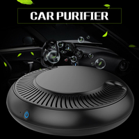Car Air Purifier with Filter Freshener Cleaner Negative Ionizer USB Formaldehyde Bacteria Odor Purifying Device Auto Goods
