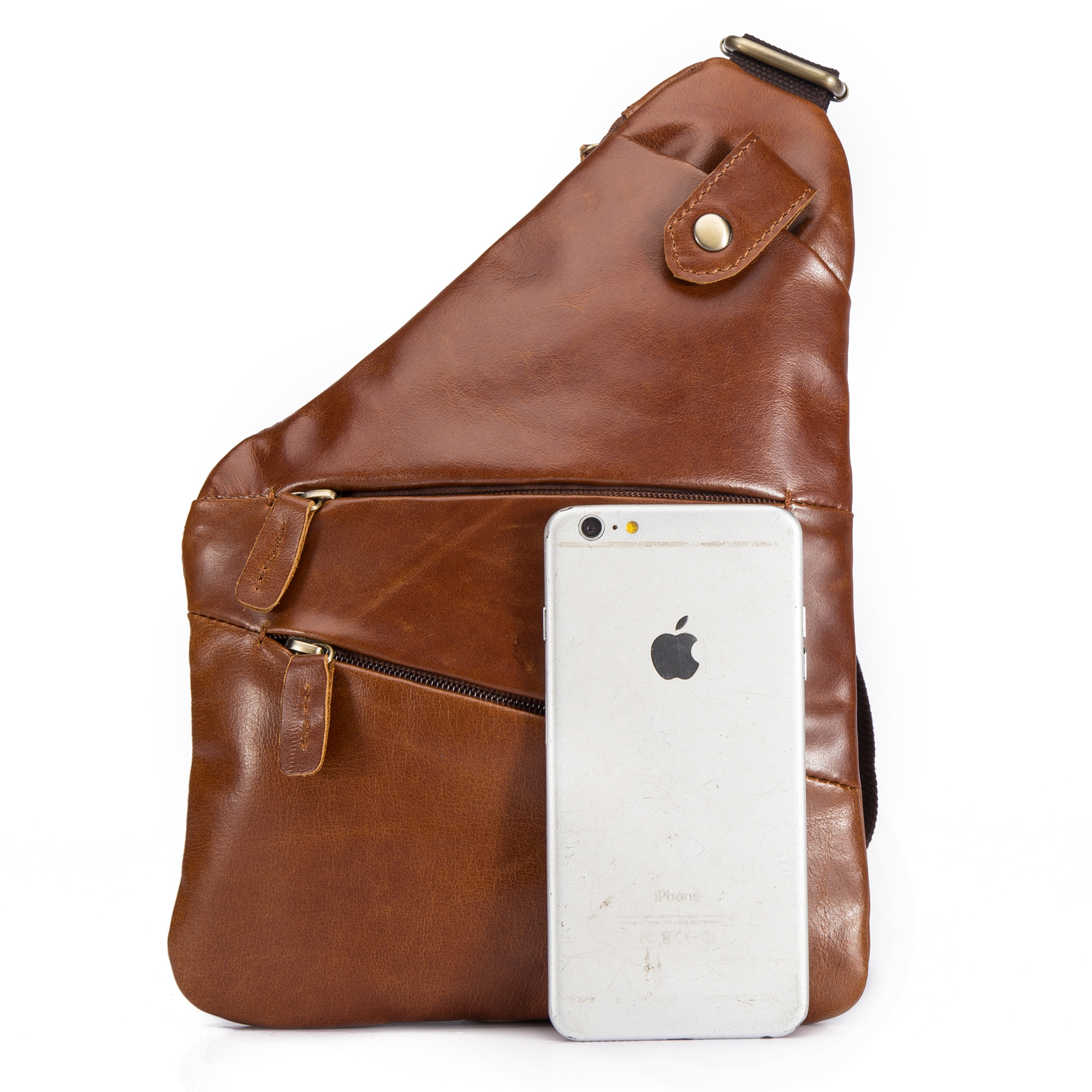 76556d5139dc Ebay Amazon Oil Wax Retro Mad Horseback Men s Chest Covered Head Leather  Tilt Factory Wholesale B624-in Crossbody Bags from Luggage   Bags on  Aliexpress.com ...