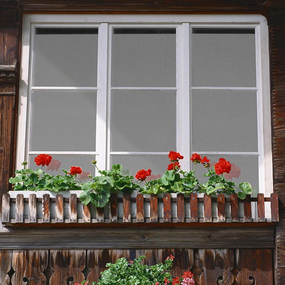 1,52x10 м в одном рулоне серая и серебряная Солнечная изоляционная оконная пленка УФ отражающая одностороннее уличное украшение для дома и офи