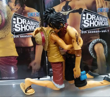 One Piece Action Figure Luffy Ace PVC 140mm Ace Deadth Anime Toys Model One Piece Action Figures