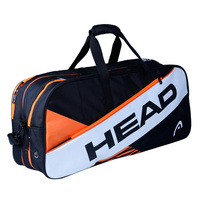 Adults Professional Head Tennis Bag Badminton Racket Handbag Shoulder Bags Travel Hiking Outdoor Sports For 6 9 Rackets