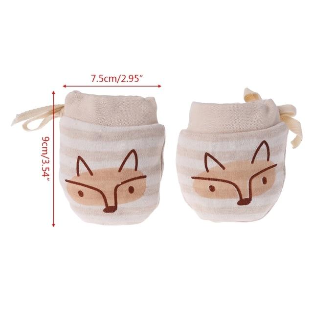 Anti Scratching Mittens For A Newborn Baby Accessories Hats & Mittens Newborn (0-3 months) Shop by Age
