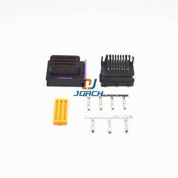 5 компл. FCI ECU коннектор 24 Pin 24 Way мужской и женский автомобильный корпус герметичные соединители штепсельная розетка 211PC249S8005