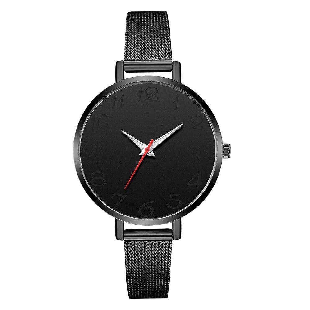 Новые женские часы-браслет, ЖЕНСКИЕ НАРЯДНЫЕ часы, женские повседневные кварцевые часы со стальным ремешком, аналоговые женские наручные часы Zegarek Damski - Цвет: all black