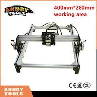 New 0 5w 5 5w DIY Laser Engraver Machine 395mm 285mm Working Area Engraving Machine Wood