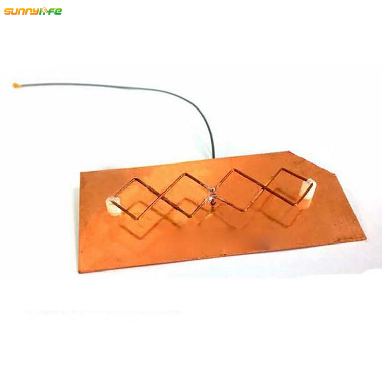 Sunnylife Refitting Antenna Board Range Panel Antenna Rhombic 5.8G Signal Booster DIY for YUNEEC Q500 Drone Remote Controller
