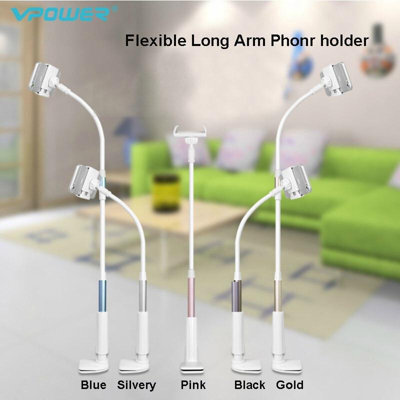 imágenes para Brazo Flexible de 360 grados soporte para teléfono móvil soporte de 85 cm larga la Gente Perezosa Cama Escritorio montaje de la tableta para el iphone 6 5S