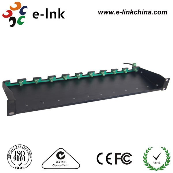 19 10-Slot Rack for Micro-type Media Converter19 10-Slot Rack for Micro-type Media Converter