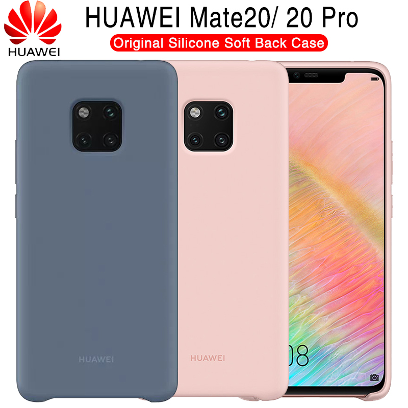 Huawei Mate 20 Case Original 100 Offical Silicone Soft Protection