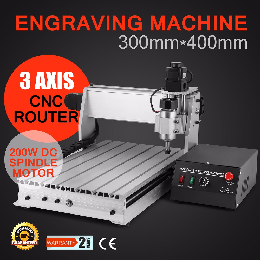 3 AXIS 3040 CNC ROUTER ENGRAVER ENGRAVING Updated New CNC 3040T Router Engraver/Engraving Drilling And Milling Machine