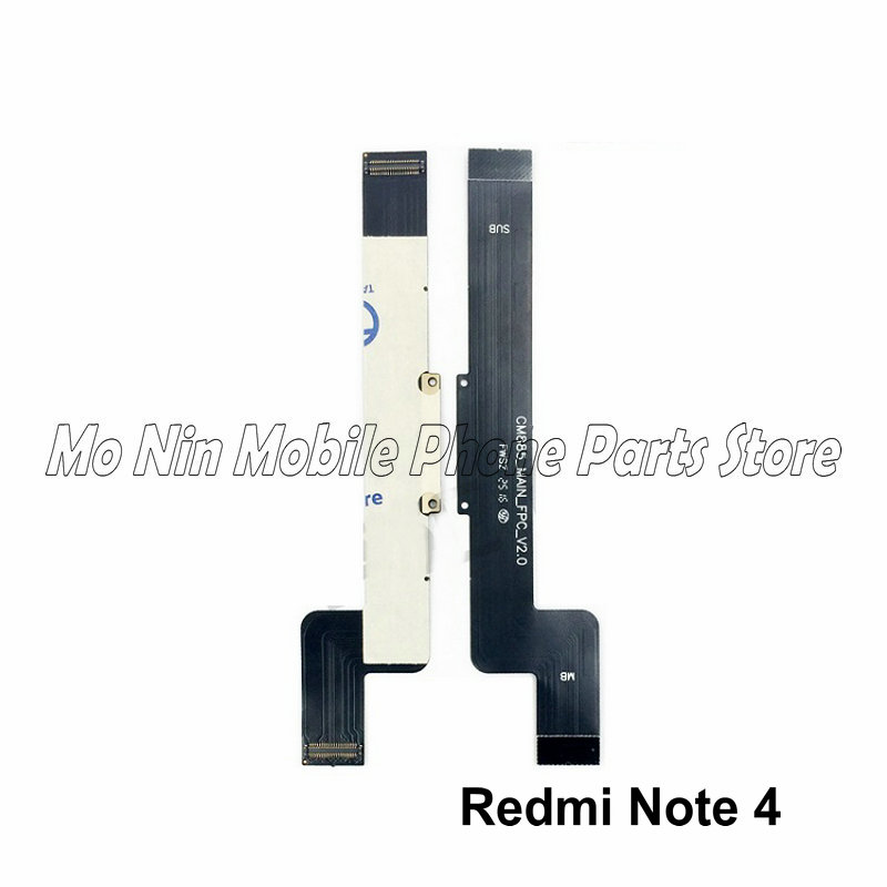 New Main Board <font><b>Motherboard</b></font> Connector Board Flex Cable For <font><b>Xiaomi</b></font> <font><b>Redmi</b></font> <font><b>Note</b></font> 4 <font><b>4X</b></font> Replacement Parts Flex Cable image