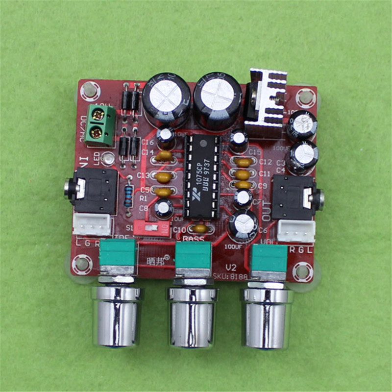 Amplifier XR1075 Tone Board BBE Digital Audio Power Amplifier Front-end Processor To Beautify The Actuator Plate