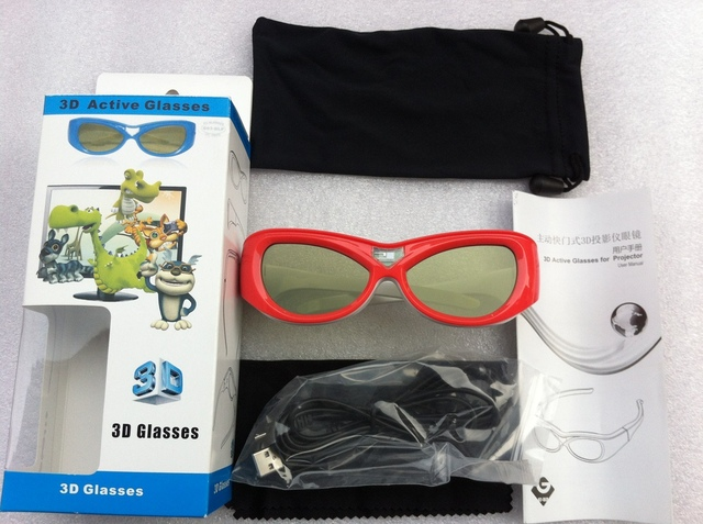 [Sintron] 3D Active Shutter Glasses Eyewear For Kids & Children ,IR based ,in HK