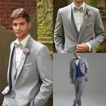 Traje De Novio 2016 New Custom Made Men Slim Suits Tuxedos Grooms Suits Wedding Suits Formal Party Suits Evening Suits