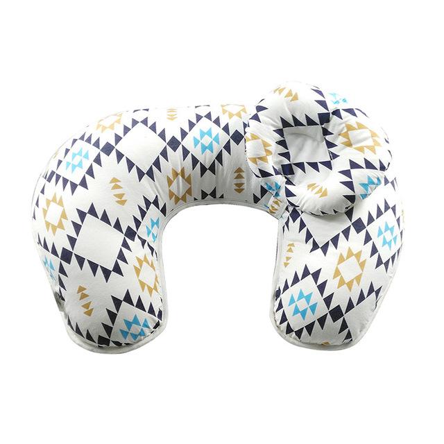 Multifuncional Travesseiro De Enfermagem Amamentação Infantil Travesseiro Bebê Afago-U Almofada de Apoio Da Cintura Travesseiro De Enfermagem Proteger Múmia 650G