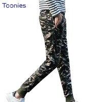 Print Camouflage Sweatpants Trousers Casual Hip Hop Slim Fit Pants Men Full Length Brand Clothing Plus