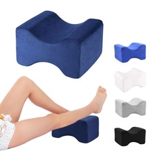 Memory Foam Knee Leg Pressure Pain Relief Legs Pillow Bed Massage Cushion Wedge Nap Sleep Pillows Textiles