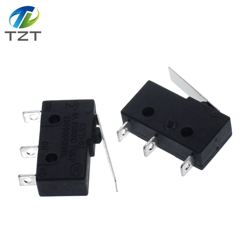 Electronic Components & Supplies Micro Switch 3pin 5a 250v Stalk Switch Kw11-3z Microswitch 50pcs/lot Long Stalk Switch In Stock Good Quality Integrated Circuits