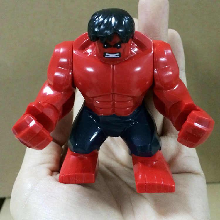 Endgame hero modelo Blocos de Construção de mini tijolos Vingadores Marvel Hulk IronMan Spiderman Figuras Brinquedos Para As Crianças