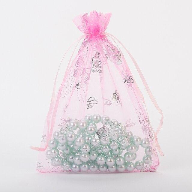 Ketting Koord Pouch 63 Oorbellen Verpakking Cm Us5 13x18 Hanger Tassen Zakjes Kerst In Roze Sieraden Goedkope 6Off 13x18 Organza AjL34qRc5