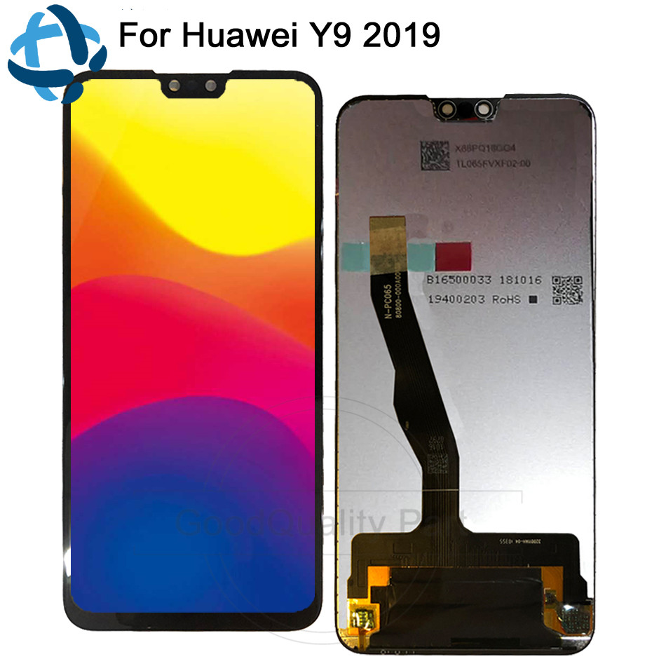 New 6.5For Huawei Y9 2019 LCD DIsplay Touch Screen Digitizer Assembly JKM-LX1 JKM-LX2 JKM-LX3 enjoy 9 plus LCD replacmentNew 6.5For Huawei Y9 2019 LCD DIsplay Touch Screen Digitizer Assembly JKM-LX1 JKM-LX2 JKM-LX3 enjoy 9 plus LCD replacment