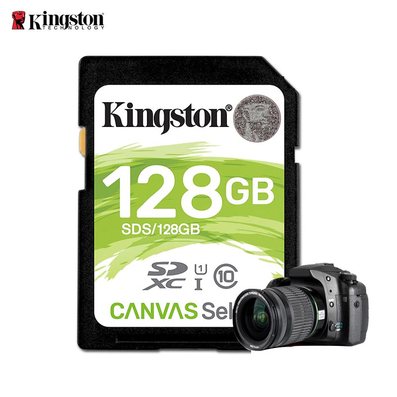 Kingston Speicherkarte 16 gb 32 gb 64 gb 128g Sd-karte Class 10 Flash karte SDHC SDXC uhs-i-class 10 cartao de Memoria carte sd tarjeta