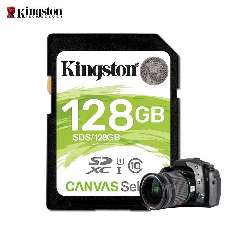 Tarjeta de memoria Kingston 16 GB 32 GB 64 GB 128g tarjeta SD Clase 10 Flash Card SDHC SDXC UHS-I clase 10 cartao de Memoria tarjeta sd tarjeta