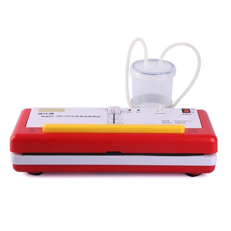220V Z-280/SE Household Food Vacuum Sealer Dry Or Wet Environment Avaible,handy Vacuum Sealing Machine