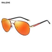 97fcaacca 2019 hombres mujeres polarizado piloto gafas de sol de oro Color naranja  lente de espejo de mujer T/clase camisa/Camiseta tipo m.
