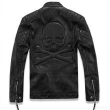 2016 New brand motorcycle leather font b jackets b font men font b men s b