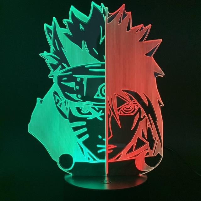 3D NARUTO LED LAMP