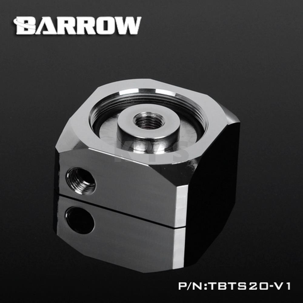Barrow TBTS20-V1 Full Metal DDC Pump Integration Reservoir Top Cover barrow pmma ddc pump integration reservoir mod kit pbtt ytw3080 top cover