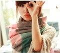 Мода Imitaticashmere шерстяной шарф bufanda Кисточкой шаль пашмины bufandas Испания Толщиной Плед женщины зимние шарфы 200*60 пашмины