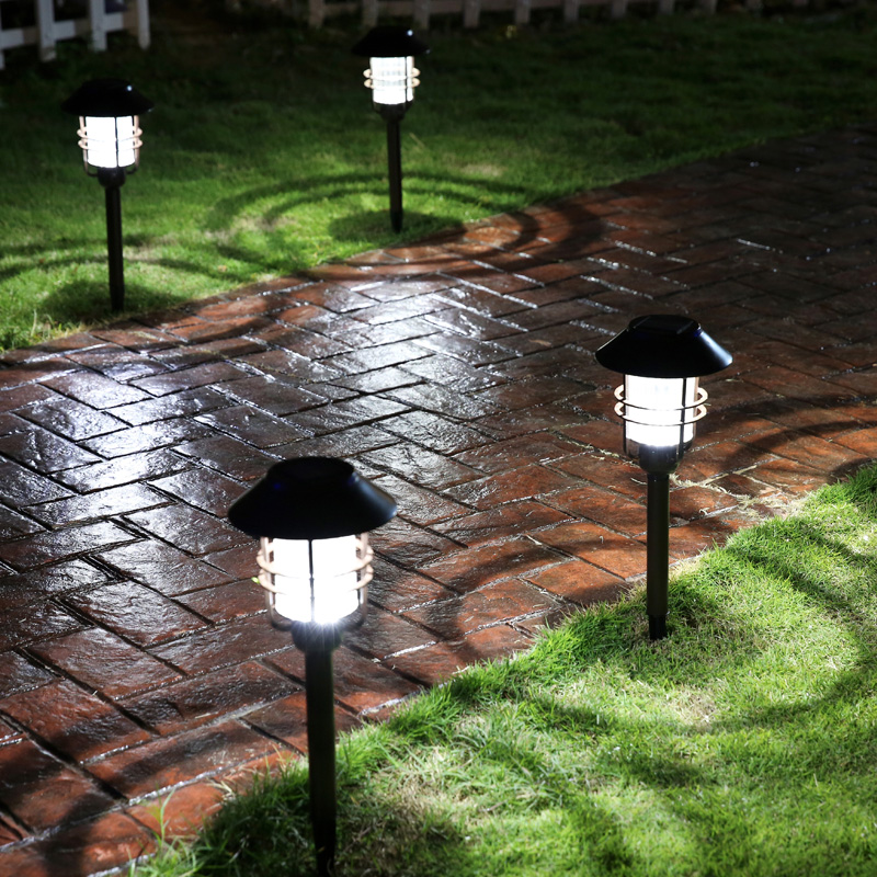 Waterproof IP54 Outdoor LED Light Garden Security Lamp Solar Power Fence Light Lamps Emergency Light Solar LED