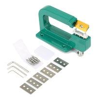 14Pcs/Set Craft Leather Paring Machine Edge Skiving Leather Splitter Skiver Peeler 30mm Tools TB Sale
