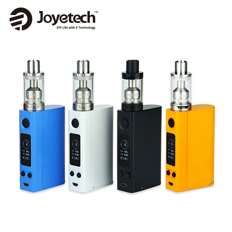 100% Original Joyetech EVic VTC Dual Kit Electronic Cig 75W 150W EVic-VTC Dual Box Mod For 4ml Capacity ULTIMO Tank NO Battery