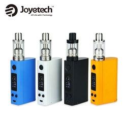 100% Originale Joyetech eVic VTC Dual Kit cig elettronico 75 w 150 w eVic-VTC Doppio Box Mod per 4 ml Capacità ULTIMO Carro Armato SENZA Batteria
