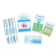 Oral Hygiene Experience Sets Toothbrush Dental Flosser Interdental Brush Orthodontic Wax Floss Threader Gum Care Cleaning