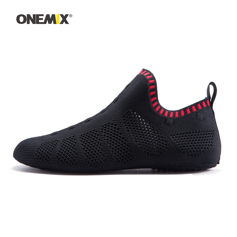 ONEMIX Men Yoga Sports Socks For Women Light Mesh Gym Dancing Fitness Shoes Indoor Walking Sneakers