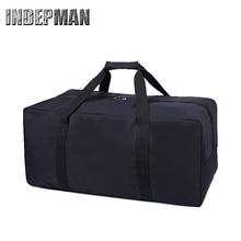 Heißen Männer Frauen Duffle Tasche 2016 Unisex Solide Zipper Große Kapazität Faltbare Reisetasche Tragbare Wasserdichte Nylon Gepäck 4 Farben