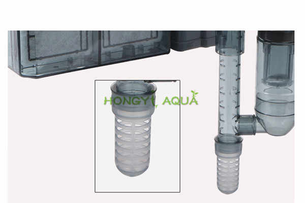 Akuarium Submersibl 3-In-1 Eksternal Gantung Tangki Ikan Power Filter Hi-330 Air Terjun Eksternal Aquarium Air pompa Permukaan Skimmer