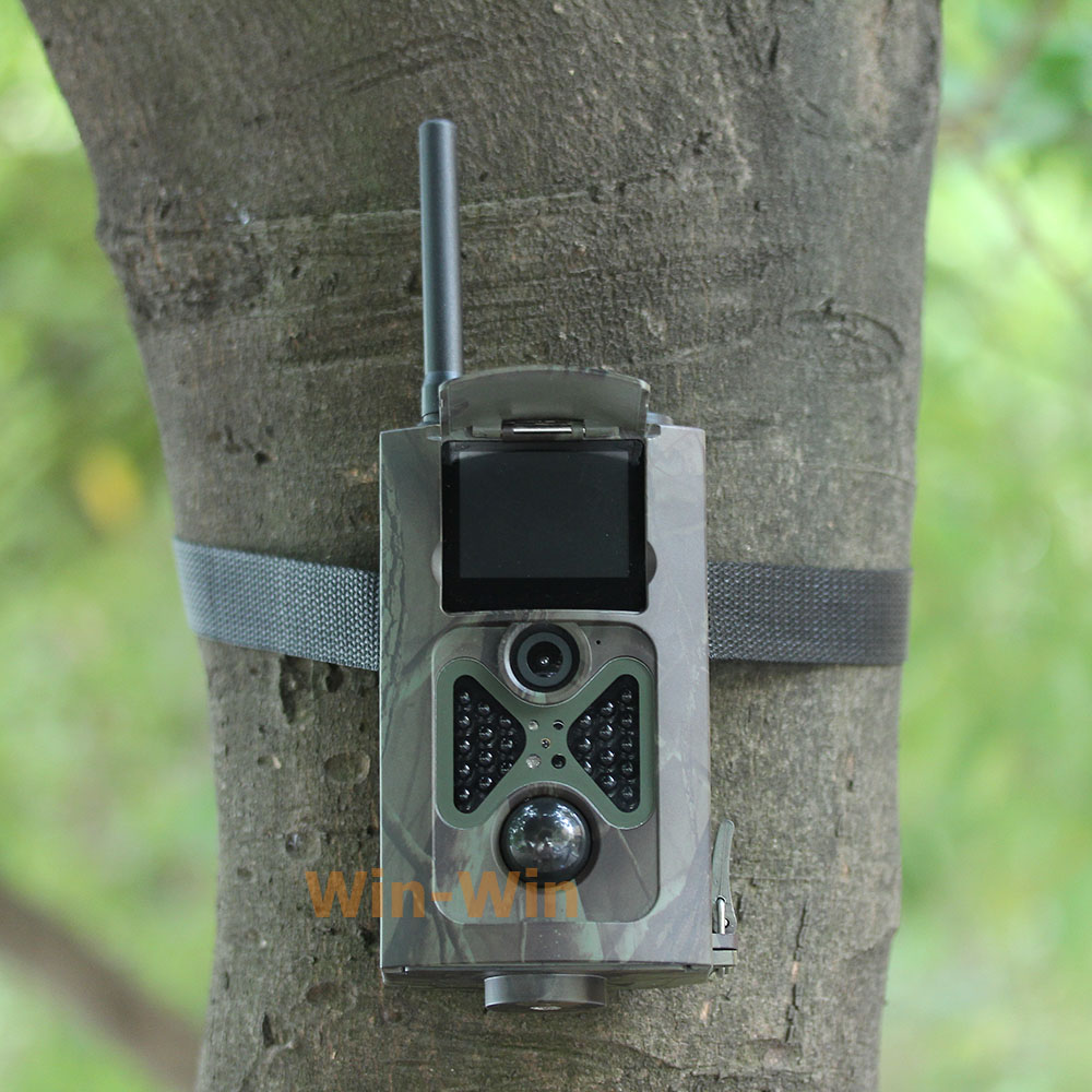 HC500M HD 12MP Trail Camera GSM MMS GPRS SMS Control Scouting Infrared Wildlife Hunting Camera hc500m hd gsm mms gprs sms control scouting infrared trail hunting camera with 48pcs ir leds night vision wildlife surveillance