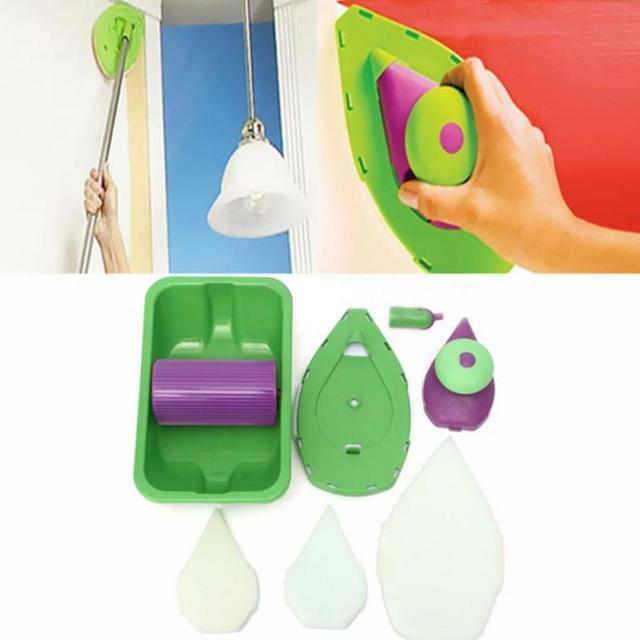 Paint Roller and Tray Set Painting Brush
