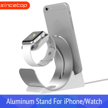 Original base For iPhone Charging Dock for apple watch stand station Desk Cradle phone Holder mobile support holder