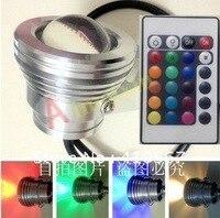 Free shipping10W RGB led flood light underwater light input 24v +Controller