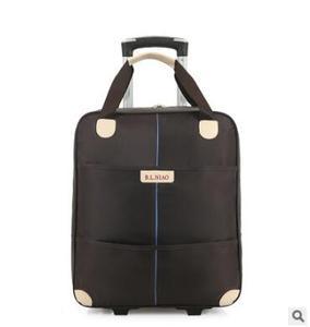 Image 2 - Новинка 2017, дорожная сумка на колесиках для женщин и мужчин, унисекс, сумка для багажа на колесах, дорожная сумка из ткани Оксфорд, дорожная сумка на колесах