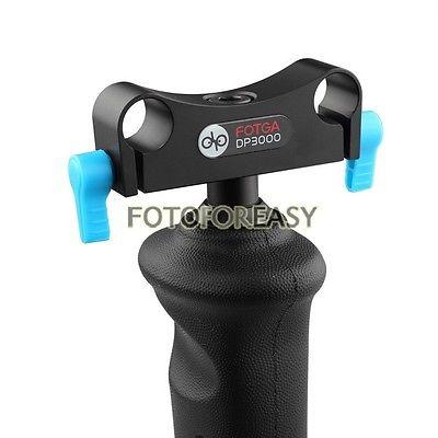FOTGA DP3000 Single Front Handle Grip Rod Clamp Rail Block for 15mm - Kamera dan foto - Foto 2